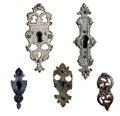 Antique locks Royalty Free Stock Photo