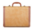 Antique luggage or suitcase Royalty Free Stock Photography
