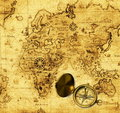 Antique map Stock Photography