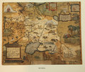 Antique map of Russia Royalty Free Stock Photo