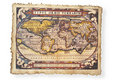 Antique map of World Royalty Free Stock Photo