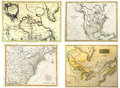Antique Maps Collection Royalty Free Stock Photo