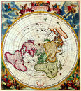 Antique Maps of the World Royalty Free Stock Photo