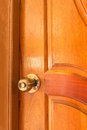 Antique Metal Brass Door Knob Royalty Free Stock Photo