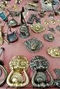 Antique metal handles