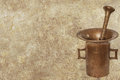 Antique mortar background grunge with Stock Images