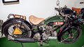 Antique motorcycle brand BSA 500 S29, 493 ccm, 1929, motorcycle museum