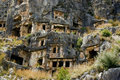 Antique Myra in Turkey Royalty Free Stock Photo