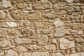 Antique natural stonewall Royalty Free Stock Photo