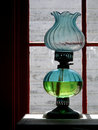 Antique Oil Lamp Royalty Free Stock Photo