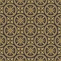 Antique oriental seamless pattern Stock Images