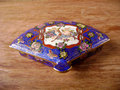 Antique Ornamental engraving Jewelry box Royalty Free Stock Photo