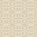Antique ornate pattern golden seamless Stock Photography