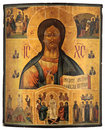 Antique orthodox icon Stock Photography