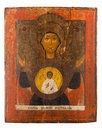 Antique orthodox icon Royalty Free Stock Photo