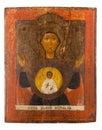 Antique orthodox icon Royalty Free Stock Photo