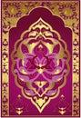 Antique ottoman gold design Royalty Free Stock Photo