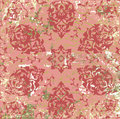 Antique ottoman grungy wallpaper raster design Stock Images