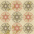 Antique ottoman grungy wallpaper raster design Royalty Free Stock Photo