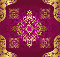 Antique ottoman wallpaper illustration design Stock Photos