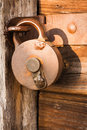 Antique padlock Royalty Free Stock Photo