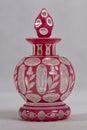 Antique perfume bottle - 1830 - 1850 Royalty Free Stock Photo