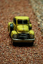 Antique pick-up car miniature Royalty Free Stock Photography