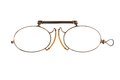 Antique pince-nez Royalty Free Stock Photography