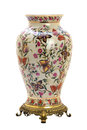 Antique porcelain jar in modern style. Stock Photography