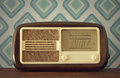 Antique radio Stock Photography
