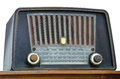 Antique radio Royalty Free Stock Image