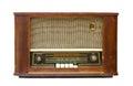 Antique radio transistor Royalty Free Stock Photo
