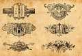 Antique religion symbols Stock Image