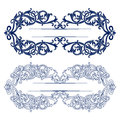 Antique retro pattern border Royalty Free Stock Photo