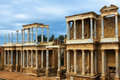 Antique Roman Theatre Royalty Free Stock Photo