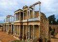 Antique Roman Theatre. Merida Royalty Free Stock Photo