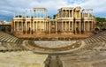Antique Roman Theatre at Merida Royalty Free Stock Photo