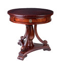 Antique round table Royalty Free Stock Images