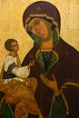 Antique Russian orthodox icon Royalty Free Stock Photo