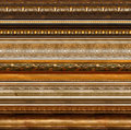 Antique rustic decorative frame patterns Royalty Free Stock Photo