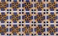 Antique Seamless Portuguese Tiles Royalty Free Stock Photo