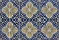Antique seamless Portuguese Tiles Royalty Free Stock Photo