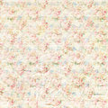 Antique shabby vintage roses floral pattern background design Royalty Free Stock Photo