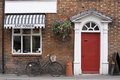 Antique Shop In Rural England Royalty Free Stock Photo