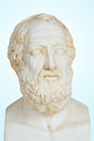 Antique statue plato platon was philosopher mathematician classical greece was also student socrates Royalty Free Stock Images
