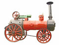Antique steam tractor Royalty Free Stock Photo