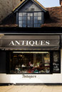 Antique Store in England Stock Photo