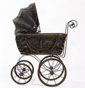 Antique strollers Royalty Free Stock Photos