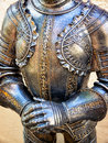 Antique suit of armor beautiful Stock Images