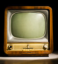 Antique television Stock Photos